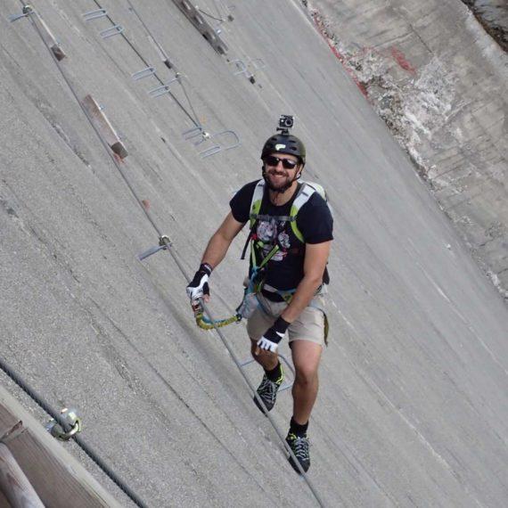 Dobytí Mount Everestu - teambuilding, via ferraty