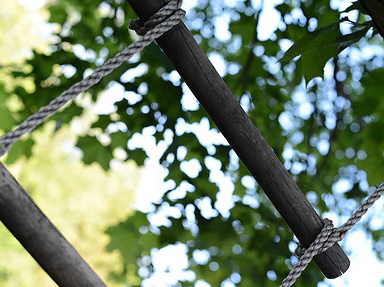 Lanový žebřík - zábavné atrakce pro děti Vysočina