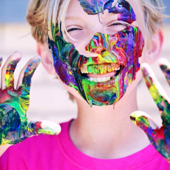 Facepainting - malování na obličej - zábavné atrakce Brno