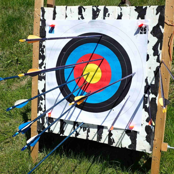 Sportovní lukostřelba - zábavné atrakce pro děti Brno
