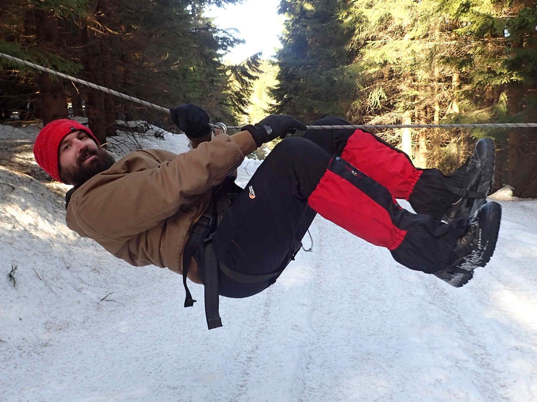 Nízké lanové překážky - zábavné atrakce Krkonoše