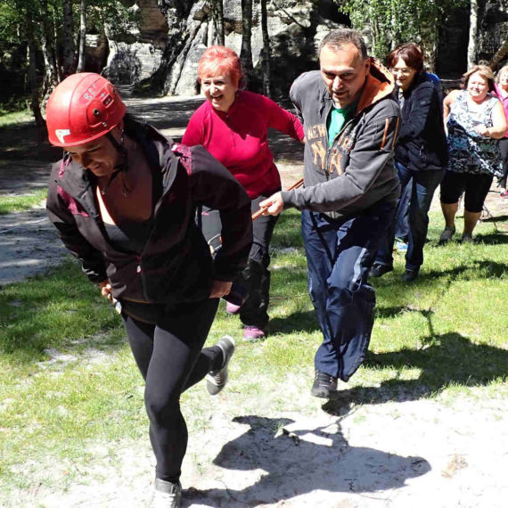 Bungee running - zábavné atrakce Liberec