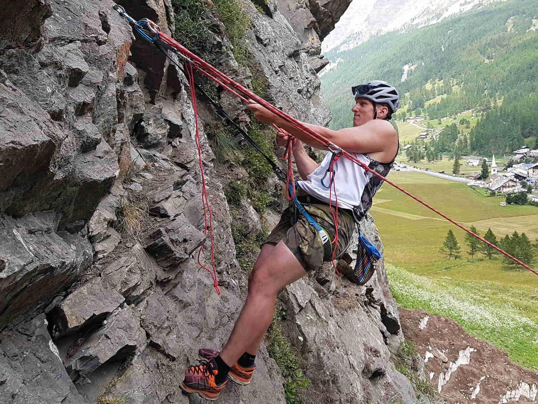 Skalní lezení - zábavné atrakce Liberec