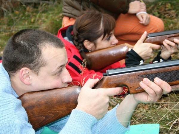 Střelba ze vzduchovky - zábavné atrakce, teambuilding v Praze