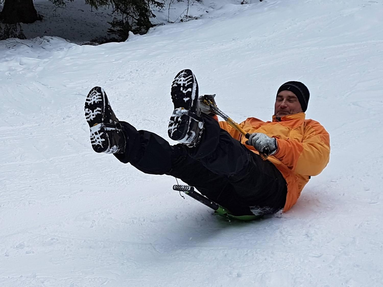 Yettiho stopy - zážitkový teambuilding v zimě na horách