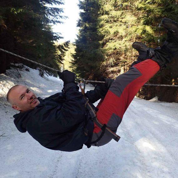 Yettiho stopy - outdoor zimní teambuilding Praha