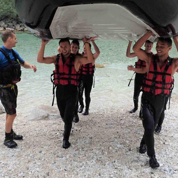 Vodní živel - teambuilding, teamspirit na Vysočině