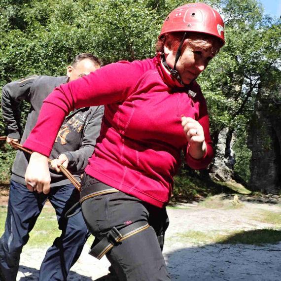 Bungee running - zábavné atrakce Teplice, pronájem atrakcí Ústí nad Labem
