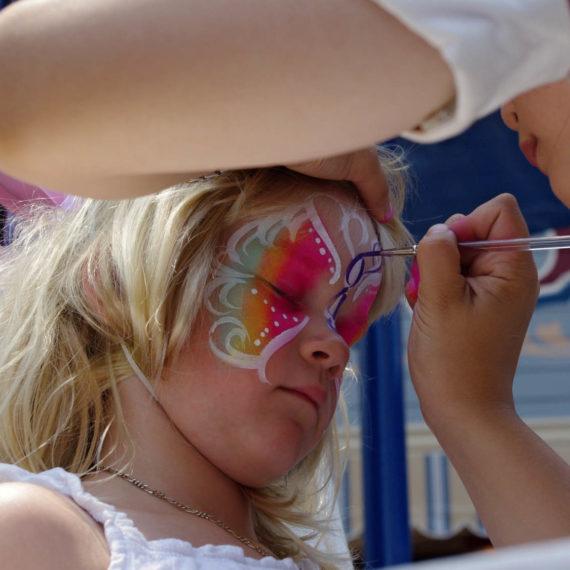 Facepainting - malování na obličej pro děti v Praze