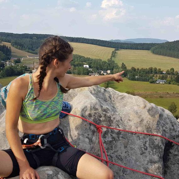 Lezení na pískovcích - zábavné atrakce Ústí nad Labem