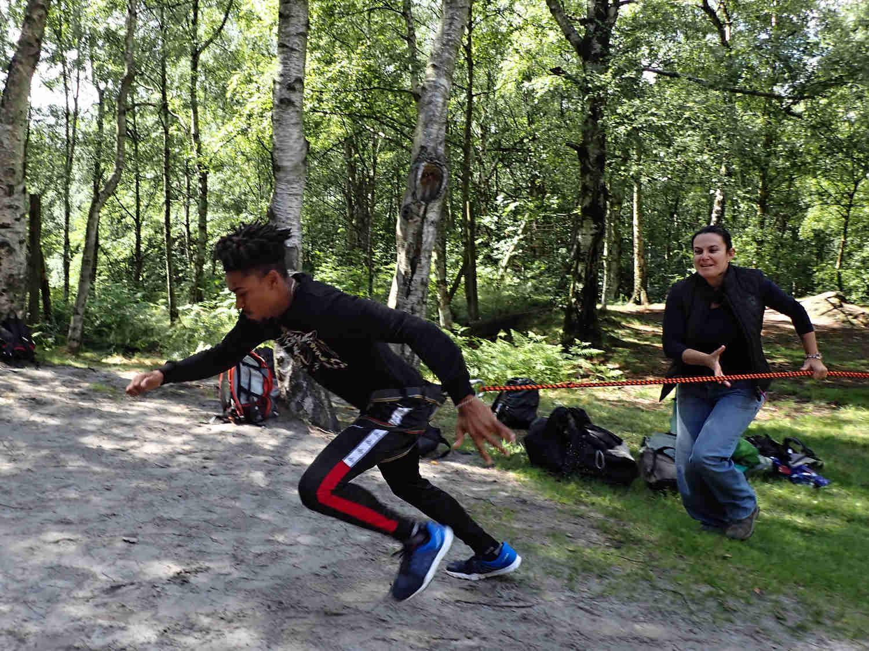 Bungee running - zábavné atrakce v Brně