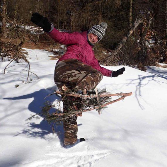 Anděl na horách - teambuilding na sněhu