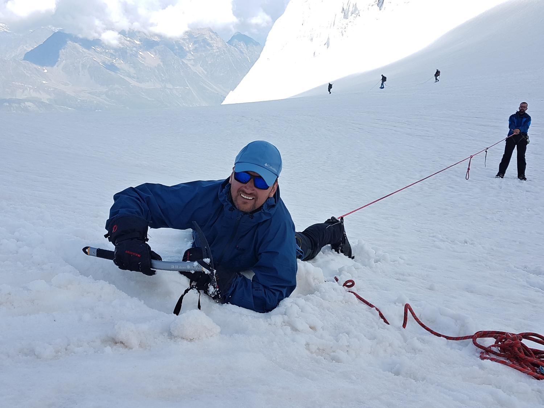 Dobytí Mount Everestu - outdoor teambuilding na horách
