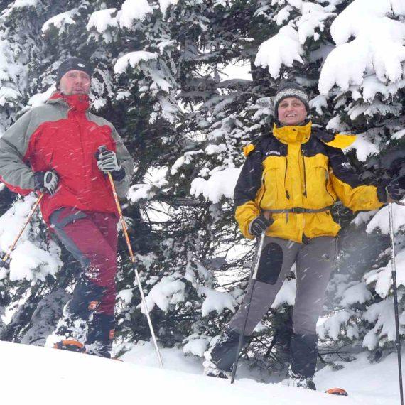 Yettiho stopy - zimní teambuilding na horách