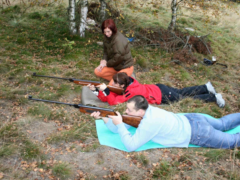 Střelba ze vzduchovky - zábavné atrakce Liberecký kraj