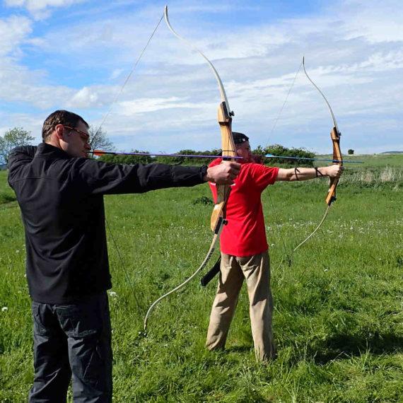 Lukostřelba - zábavné atrakce Ústecký kraj, pronájem atrakcí