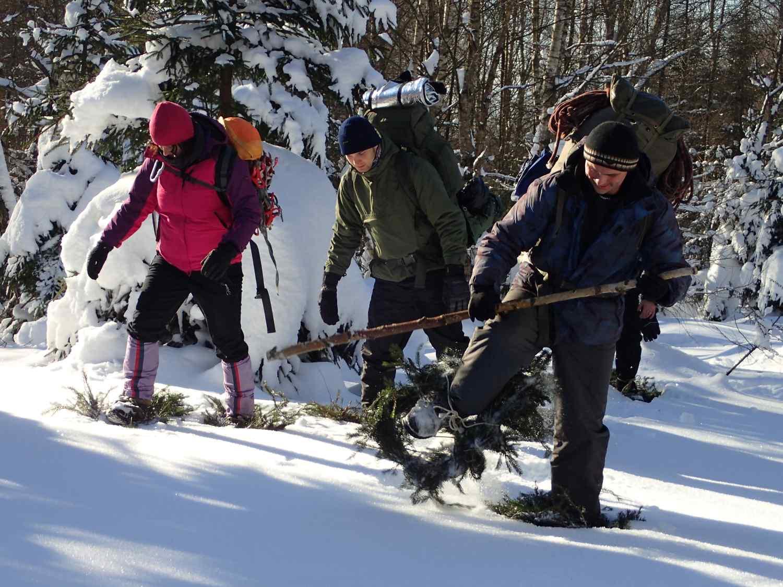Anděl na horách - teambuilding v zimě