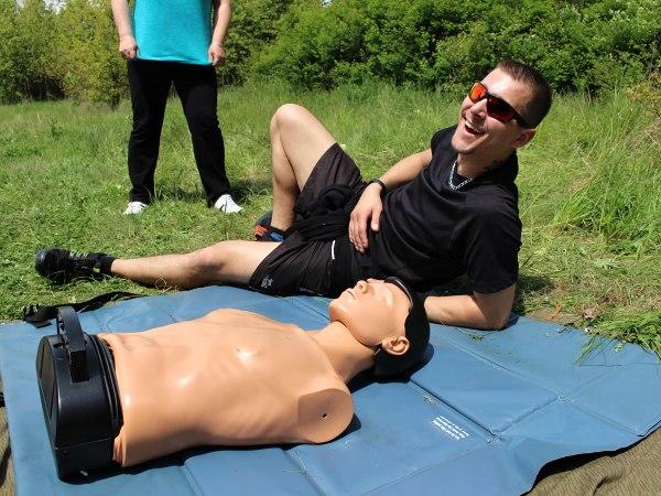 Zábavný workshop první pomoci
