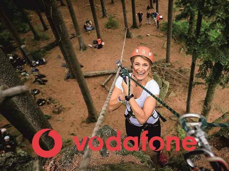 Vodafone teambuilding reference HOTROCK