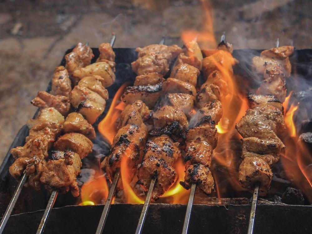 Catering grilování